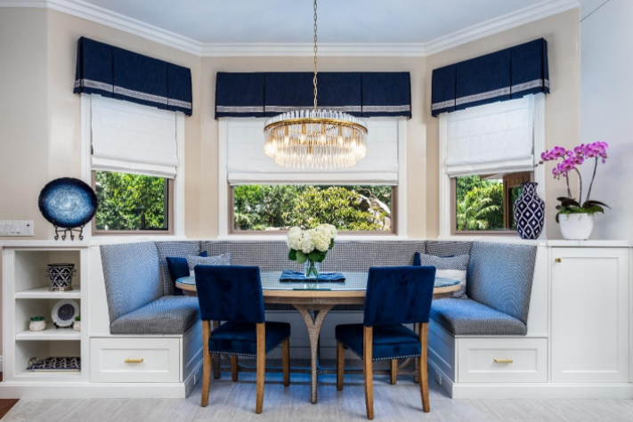 Banquette Seating in the Kitchen – Informal Dining and Design Opportunity